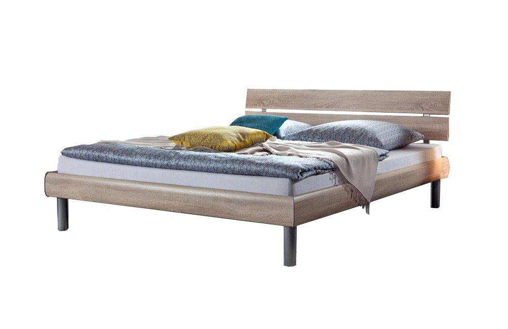 soft line von hasena bett soko eiche s gerauh natur. Black Bedroom Furniture Sets. Home Design Ideas
