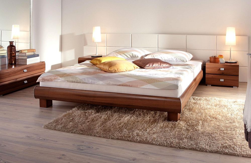soft line von hasena bett ivio walnuss m bel letz ihr online shop. Black Bedroom Furniture Sets. Home Design Ideas