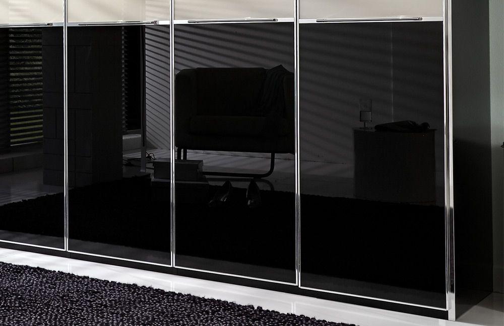 kleiderschrank shanghai von wiemann schwarz magnolie m bel letz ihr online shop. Black Bedroom Furniture Sets. Home Design Ideas