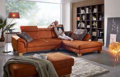 f s polsterm bel 239 lugano ecksofa petrol m bel letz ihr online shop. Black Bedroom Furniture Sets. Home Design Ideas