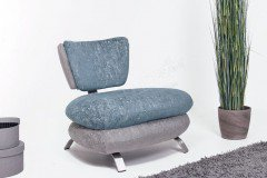 Pitch von New Look - Lounge-Sessel aqua-silber