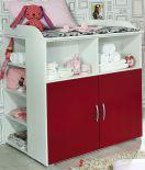Daniele von Rauch Pack's - Babyzimmer weiß/ rot