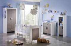Infanskids lucky babyzimmer massiv wei grau m bel letz ihr online shop - Babyzimmer janne ...