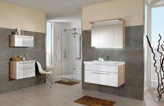 Badezimmer for guests schwarz von puris m bel letz ihr for Badezimmer qbig