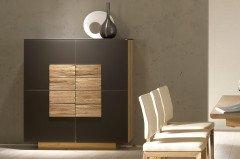 voglauer sideboard v montana 160 wildeiche optiwhite m bel letz ihr online shop. Black Bedroom Furniture Sets. Home Design Ideas