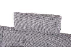 Evolet aus der Kollektion Letz - Polstergarnitur silver-graphite