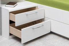 Calida von Disselkamp - Schlafzimmer-Set weiß Nussbaum