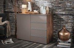 nolte deseo schlafzimmer nussbaum graphit m bel letz. Black Bedroom Furniture Sets. Home Design Ideas
