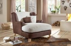 sit more asado sessel grau wei m bel letz ihr online shop. Black Bedroom Furniture Sets. Home Design Ideas