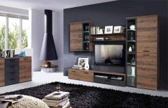 Forte wohnw nde m bel letz ihr online shop for Wohnwand cortino