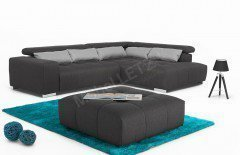 Orion von COTTA - Ecksofa black