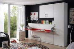 nehl 2weiraumwunder schrankbett mit tisch m bel letz ihr online shop. Black Bedroom Furniture Sets. Home Design Ideas