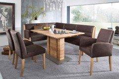 4105 Goby Von K+W Formidable Home Collection   Eckbank Braun