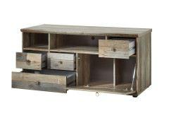 Bonanza von Innostyle - Lowboard Driftwood/ grau