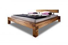Balkenbett I aus der Kollektion Letz - Bett Liegefläche 180x200