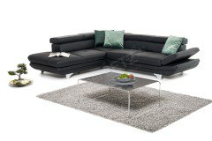 Enterprise von COTTA - Ecksofa black