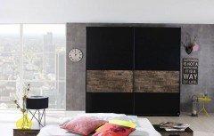 Sumatra von Rauch Select - Kleiderschrank schwarz - Vintage