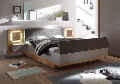 Capri XL von POL Power - Bett mit Stauraum-Bank