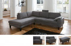 candy intermezzo ecksofa in grau m bel letz ihr online. Black Bedroom Furniture Sets. Home Design Ideas