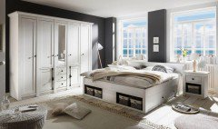 Westerland Von IMV Steinheim   Schlafzimmer Set Pinie Weiß