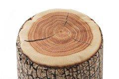 DotCom Wood von Magma Heimtex - Sitzsack Baumstamm braun