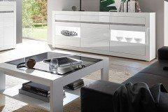 Sideboard Domo Design : Domo collection splash polstergruppe weiß grau möbel letz ihr
