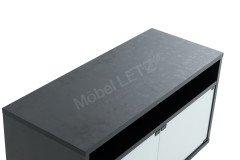 Matera von Munari - TV-Möbel MT110NE BI schwarz/ weiß