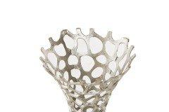 Amilia von Tidur - Vase klein/ silber
