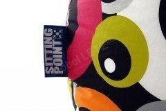 BeanBag Malibu XL von Magma Heimtex - Sitzsack orange Retro
