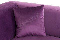 Lorenzo von Candy - Eckcouch violett
