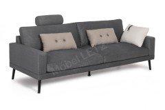 Davin von Skandinavische Möbel - Sofa dark-grey