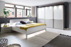 Alaska Von Wiemann   Schlafzimmer Weiß   Kieselgrau