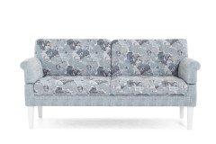 Celina von Casada - Dining-Sofa 3-sitzig hellblau