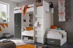 Etagenbett Maxi : Begabino maxi hochbett mit liegeflächen weiß möbel letz ihr