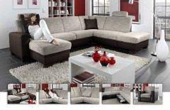 megapol effect enjoy eternity ecksofa grau schwarz. Black Bedroom Furniture Sets. Home Design Ideas
