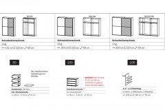 Timberstyle von Rauch Select - Schrank Holz-/ Stahl-Nachbildung