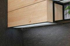 Stone/Artwood von Nolte - Küche Basalt-Asteiche natur