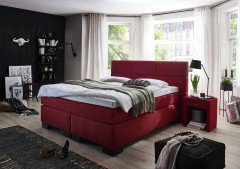 Step 5 von Fey & Co - Boxspringbett Kent red