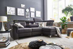 carina polsterm bel cora polsterecke in grau m bel letz. Black Bedroom Furniture Sets. Home Design Ideas