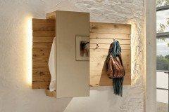 Möbelplaner V Organo Von Voglauer   Garderobenpaneel Aus Wildeiche Rustiko