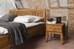 Odys von The Beds - Holzbett in Wildeiche natur geölt