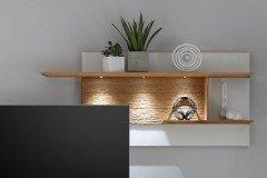 Alivio von Decker - Wohnwand 15701 mit Beleuchtung