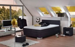 Kingsline von Fey & Co - Boxspringbett KTA black
