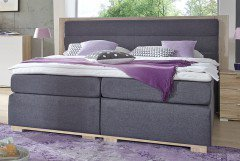 Ohio von Wimex - Boxspringbett K16 anthrazit