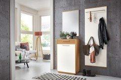 voss garderobe vedo balkeneiche spiegel schuhschrank. Black Bedroom Furniture Sets. Home Design Ideas