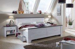Chateau von Wimex - 4-teiliges Schlafzimmer-Set mit Absetzungen