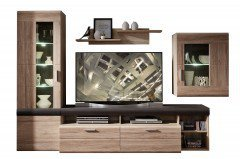 Slate Plus von Wohn-Concept - Wohnwand San Remo/ Touchwood