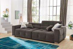 Jonah aus der Kollektion Letz - Big-Sofa grau