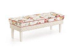 Lancaster von Sit & More - 3-sitzige Sitzbank beige