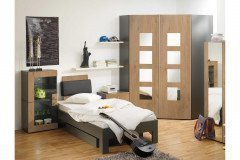 rudolf jugendzimmer fiftytwo und loop creme gr n m bel. Black Bedroom Furniture Sets. Home Design Ideas